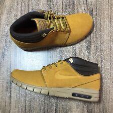 LAST G Nike SB Stefan Janoski Mid Premium Bronze Brown AV3610-779 Size 10 New