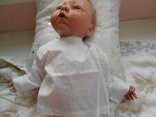 chemise  ancienne pour bébé 1 mois ou poupée reborn,baigneur colin,nano 50cm