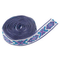 3yds National Trim Lace Ribbon Fringe Embroidery Sewing Accessory DIY 0.79''