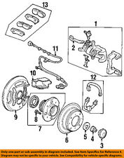 HONDA OEM Disc Brake-Rear-Dust Shield Left 43254SY8306