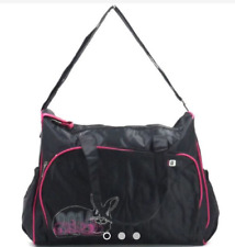 Kidland's Baby Bag Diaper Nappy Bag (Black with Pink)