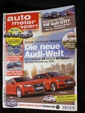 AMS 10-13+PORSCHE 918+MCLAREN P1+FERRARI LAFERRARI+BMW M3 & 125+ALFA 4C+AUDI Q5