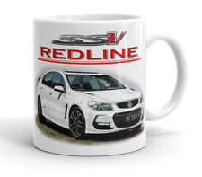 HOLDEN   VF  SSV  REDLINE  COMMODORE  QUALITY  11oz . MUG  ( 6  CAR COLOURS)