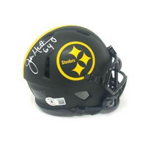 Jeff Hartings Autographed Pittsburgh Steelers Eclipse Mini Helmet
