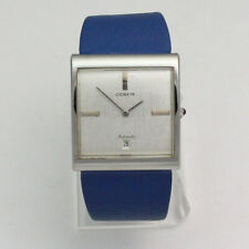 Vintage Stainless Steel 36mm Corum Buckingham Automatic Date 89.181.20 Watch