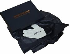 Andy Goram SIGNED Goalkeeper Glove Autograph Gift Box Rangers Football PROOF COA