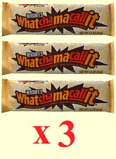 Hershey's Whatchamacallit Candy Bar Lot of 3  BFR