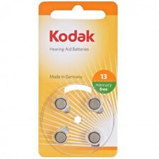 Kodak Hearing Aid Batteries Size P13 Orange - 4 Pack Zinc-Air Mercury Free