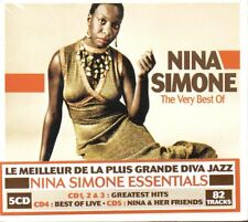 NINA SIMONE - THE VERY BEST OF - BOX 5 CD (NUOVO SIGILLATO)
