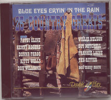 BLUE EYES CRYIN' IN THE RAIN: 25 COUNTRY GREATS – CD / KENNY ROGERS, PATSY CLINE