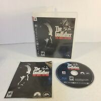 The Godfather The Don's Edition w/manual (Sony PlayStation 3 / PS3, 2007) GREAT