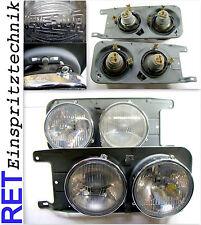 Scheinwerfer HELLA Satz rechts & links VW Scirocco Typ 53 Original überholt