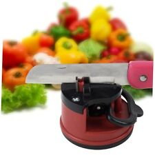 Knife Sharpener Scissors Grinder Secure Suction Chef Kitchen Sharpening Tool GN