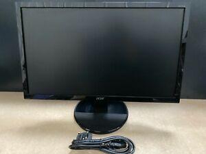 """Acer K2 K222HQL 54.6 cm 21.5"""" 1920 x 1080 pixels Full HD LED Black 75Hz Refresh"""