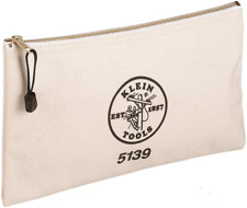 Canvas Zipper Bag Heavy Duty Securely Closed For Pliers Wrenches And Other Tools
