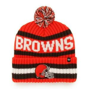 Cleveland Browns 47 Brand Knit Hat Legacy Bering Cap