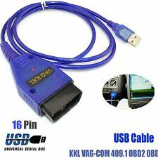 USB OBD2 II KKL ECU DIAGNOSTIC CABLE LEAD FD232B chip compatible with VCDS-LITE