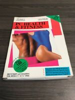 PC Health And Fitness Computer Software LJE473 Very Good