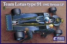 EBBRO 1/20 Equipo Lotus Tipo 91 1982 Británico GP #012