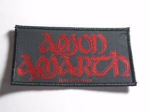 AMON AMARTH DEATH METAL WOVEN PATCH