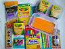 School Set Supplies Essential Bundle Pack Pencils Markers Paint Highlighters