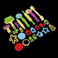 Werkzeug Kinder Knete Modelliermasse PRIMO Knetmasse 550g 10 Farben inkl