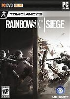 Brand New Sealed Tom Clancy's Rainbow Six Siege -- (PC, 2015)