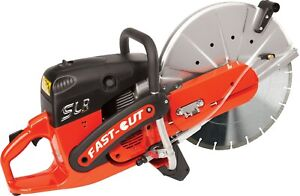 Fast Cut Gas Engine, Wet Concrete Saw FC7314SLR (NEW) In Box