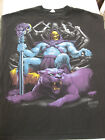 RARE 2011 Vintage SKELETOR MASTERS OF THE UNIVERSE Black T-SHIRT He-Man XXL For Sale