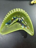 Vintage DE FOREST CALIF R236 atomic eames era footed ashtray mcm boomerang mint
