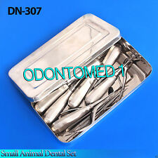 Small Animal Dental Kit With Elevators Surgical Instruments,DN-307