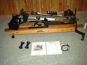 REFURBISHED NORDIC TRACK ACHIEVER SKI MACHINE W/ MONITOR .& EXTRA GRIPS - MINT
