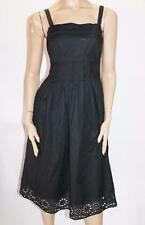 Target Brand Black Embroidered Cut Out Alice Dress Size 10-S BNWT #SX26