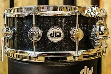 DW Collector's Series 5x14 Snare Drum, Black Ice Finish Ply w/ Chrome Hardware