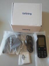 USHINING TELEPHONE PORTABLE POUR SENIOR GRANDE TOUCHE SIMPLE NEUF