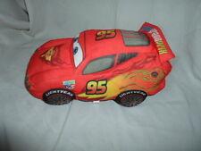 "Cars Lightning McQueen 12"" 2011 Disney Sound Plush Soft Toy Stuffed Animal"