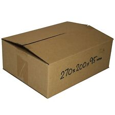 50 270x200x95mm 3Kg Satchel Cardboard Boxes mailing Shipping Carton Packaging