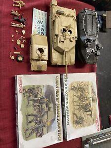 Dragon Model Kits German/Afrika Infantry 1/35 EXTRAS 3 MODELS Lot NICE L👀K