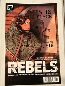 Rebels #8 Dark Horse VF+ Comics Book 2015