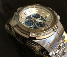@New Invicta Reserve 52mm Bolt Zeus Quartz Chronograph 21802 Stainless Bracelet