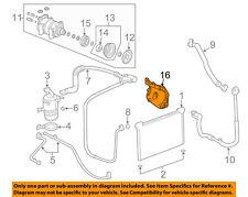 GM OEM A/C Condenser, Compressor Lines-Bracket 12643257