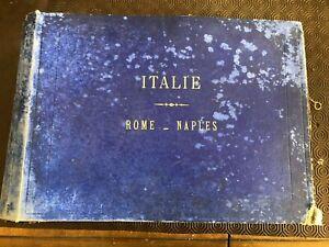 Album di 97 fotografie -Alinari / Roma e Napoli