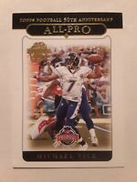 2005 Topps MICHAEL VICK All-Pro #351 Topps 50th Anniversary Football Card