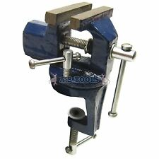 "60mm (2"") Swivel Twist Vice Clamp Grip On Type Holder Anvil TE113"