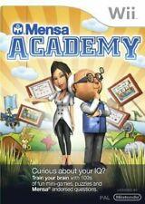 Mensa Academy  (Wii) (New) - (Free Postage) - European PAL