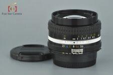 Excellent!! Nikon Ai-S NIKKOR 20mm f/3.5