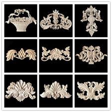 Wooden Furniture Appliques Onlays Decorative Carving Moulding Large