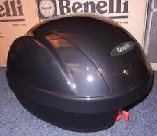 Benelli Ducati Guzzi BRAND NEW luggage rear top case + mount for helmet - GREY