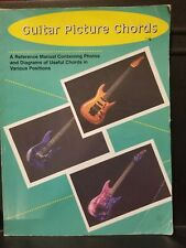 New ListingGuitar Picture Chords, Photos and Diagrams of Guitar Chords,1993, East Coast Pub