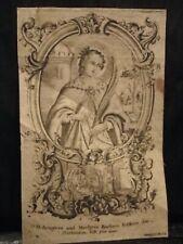 Images Pieuses Holy Card Santinio Sainte Barbara